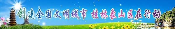 直播回放:桂林创建文明城 象山区全民动员最给力