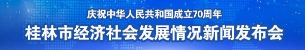 直播回顾:庆祝中华人民共和国成立70周年桂林市经济社会发展情况新闻发布会在南宁举行