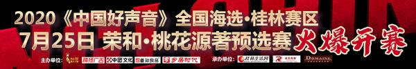 直播回顾:2020《中国好声音》全国海选桂林赛区7月25日荣和·桃花源著专场激情开唱!