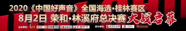 直播回顾:2020《中国好声音》全国海选·桂林赛区 8月2日晚荣和·林溪府总决赛  大战启幕!